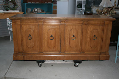 I love the size and shape of this sideboard and there is nothing like the  impeccable quality of vintage Thomasville furniture. - Reloved Rubbish: August 2012