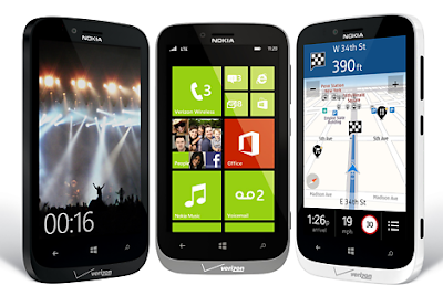 Nokia Lumia 822 - USA - Verizon Wireless - Available in Black, White, Red, Gray