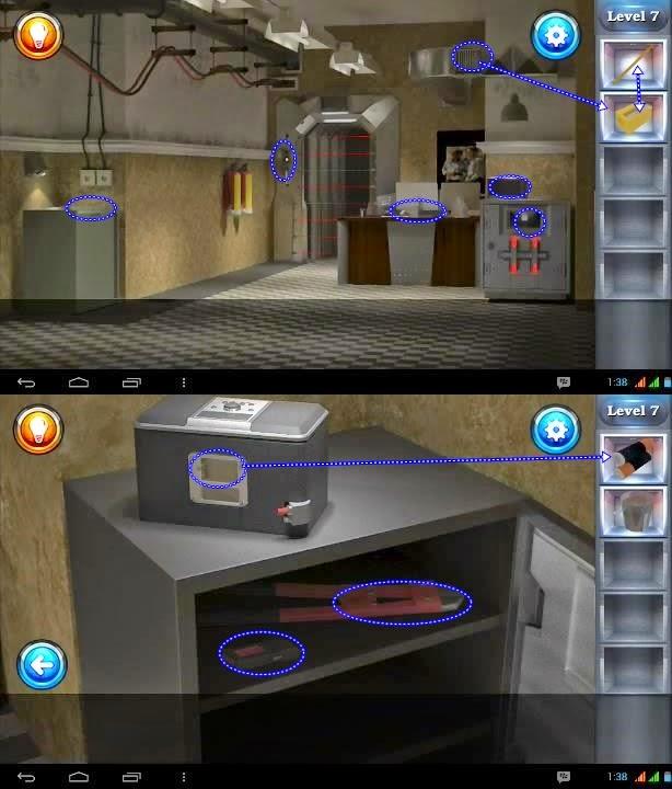 Bank Escape Level 7 Solution