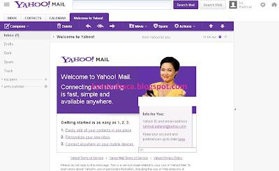 notifikasi sukses membuat email