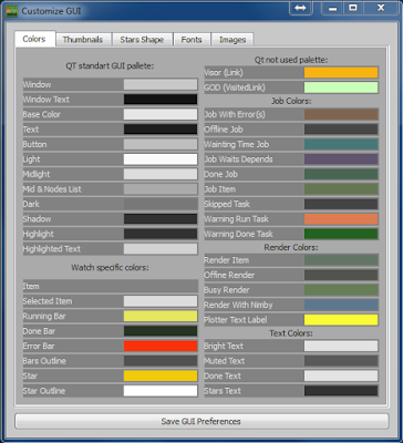 Customize GUI