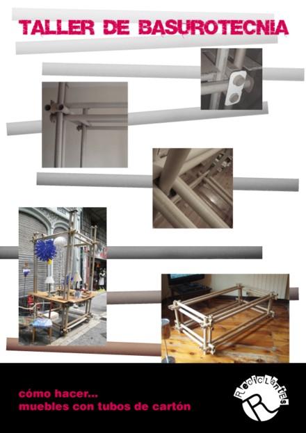 talleres reciclantes II BASUROTECNIA Tuneado con papel