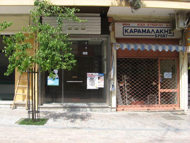 Τα καταστήματα μετακομίζουν εκτός πεζόδρομου λόγω έλλειψης πελατείας