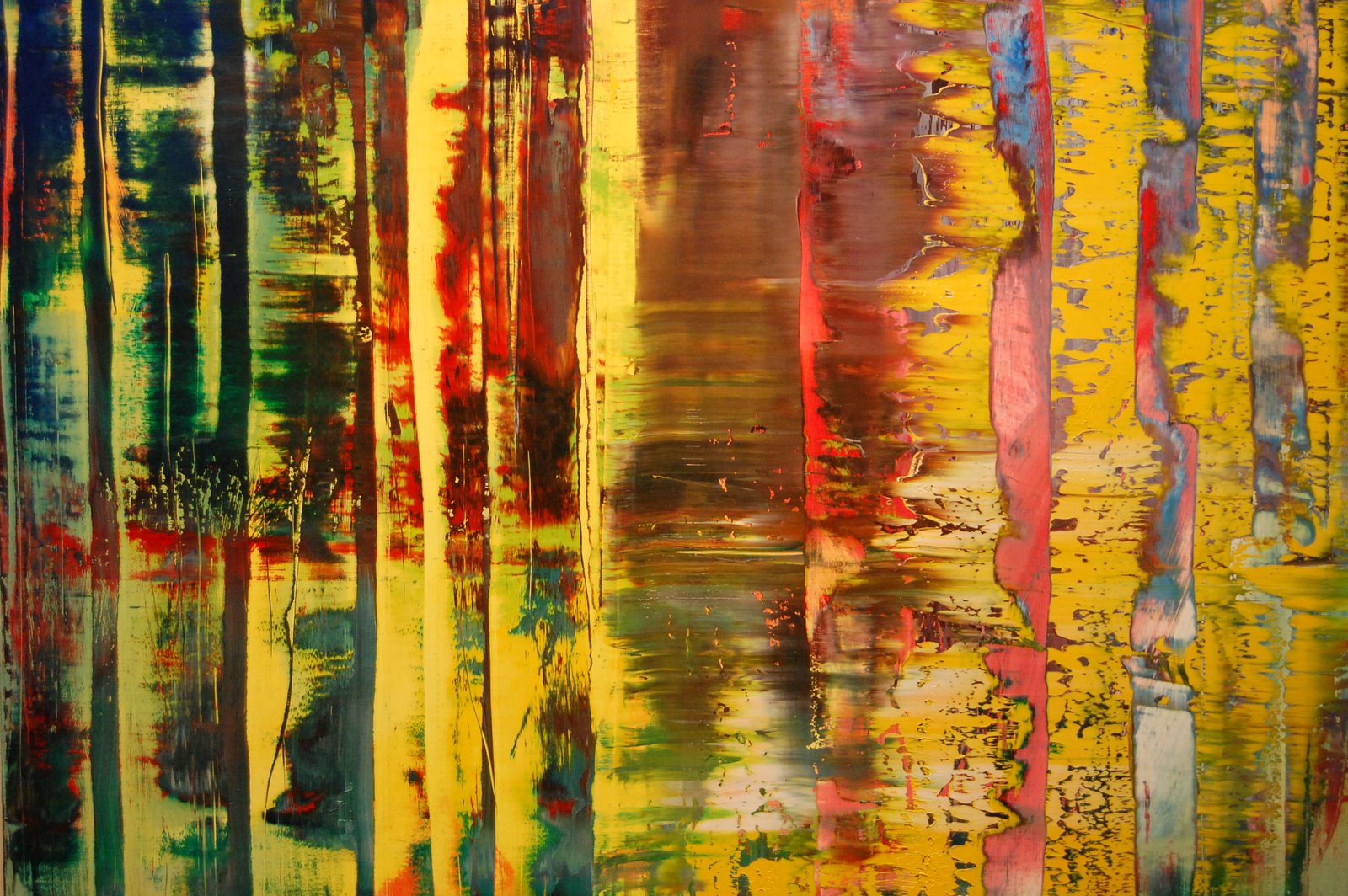 Creative arts gerhard richter at tate modern for Creative paintings pictures