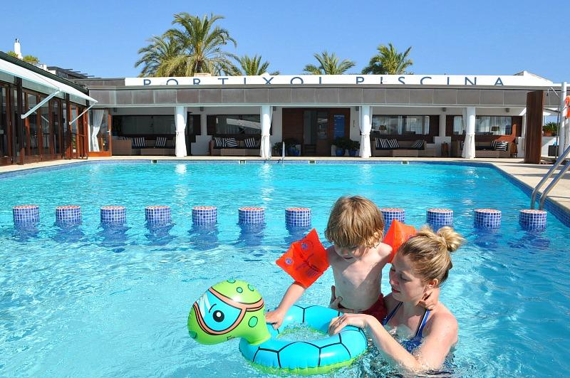 Kids freindly pool at Portixol Hotel