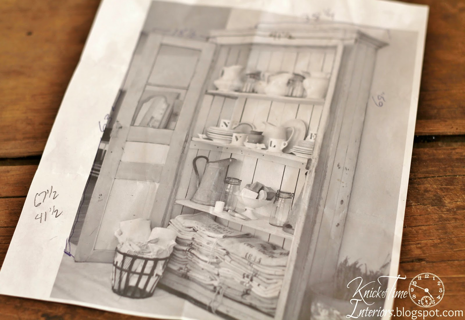 Dreamy Whites Inspiration for Repurposed Windows into DIY Antique Cupboard Cabinet via Knick of Time