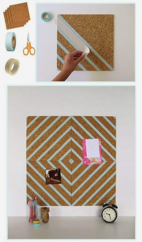 16 easy diy dorm room decor ideas diy craft projects - How to decorate simple room ...