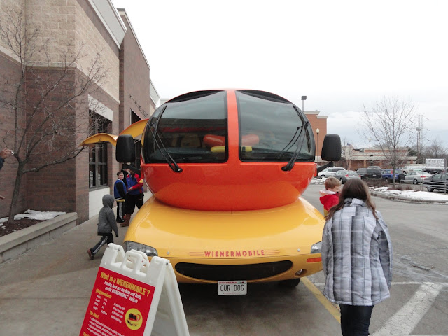 The Oscar Mayer Wienermobile Visits Milwaukee