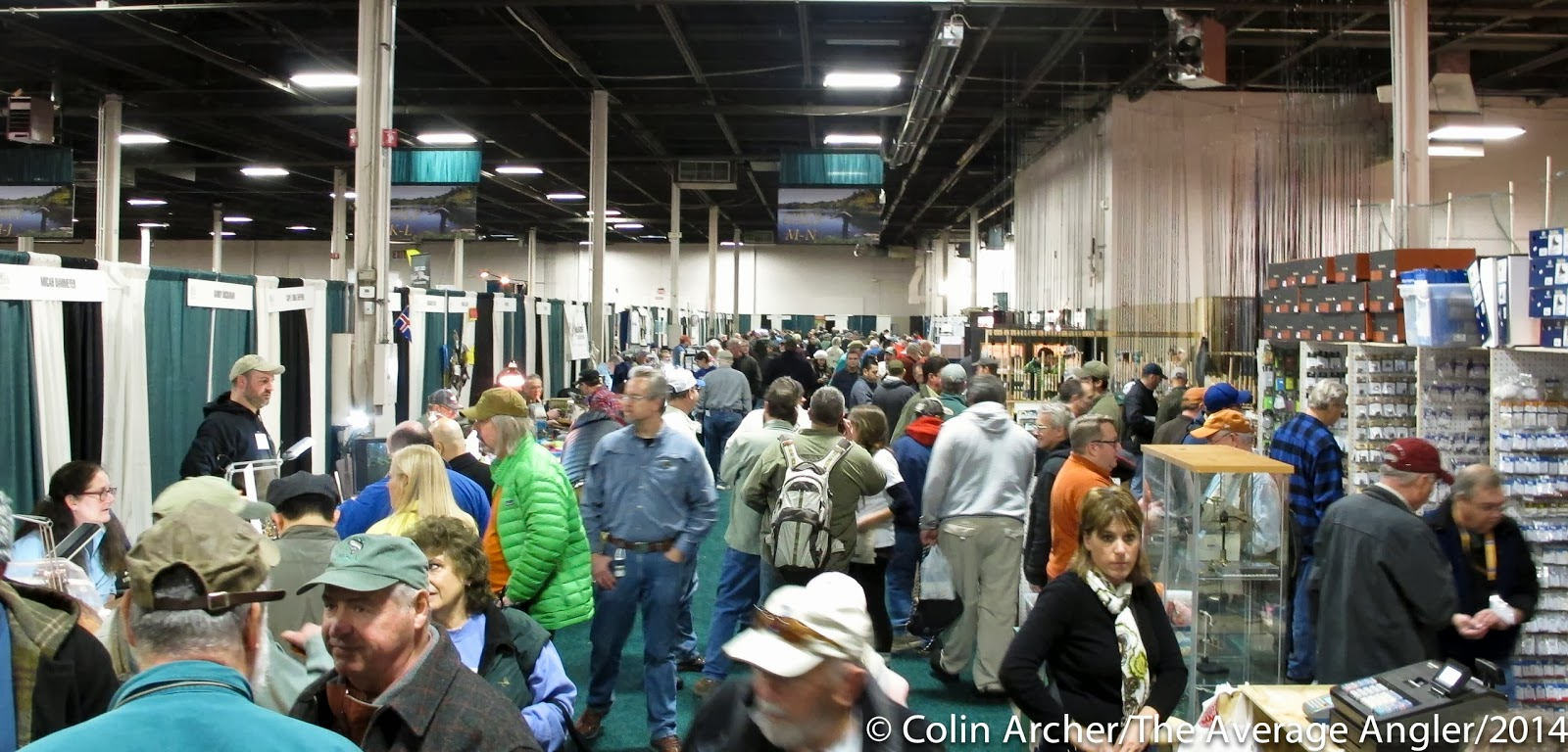 the average angler: 01.26.14 another year of the fly fishing show, Fly Fishing Bait