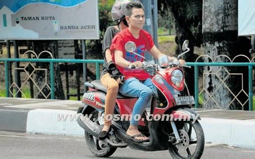 Pasangan belum kahwin dilarang naik motosikal bersama di Aceh