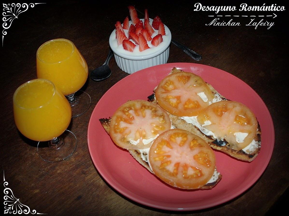 Desayuno rom ntico para dos recetas de una gatita enamorada - Preparar desayuno romantico ...