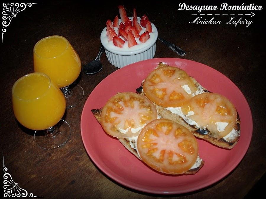 Desayuno romantico - Preparar desayuno romantico ...