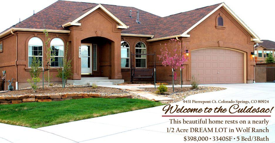 9431 Pierrepont Ct. Colorado Springs, CO 80924