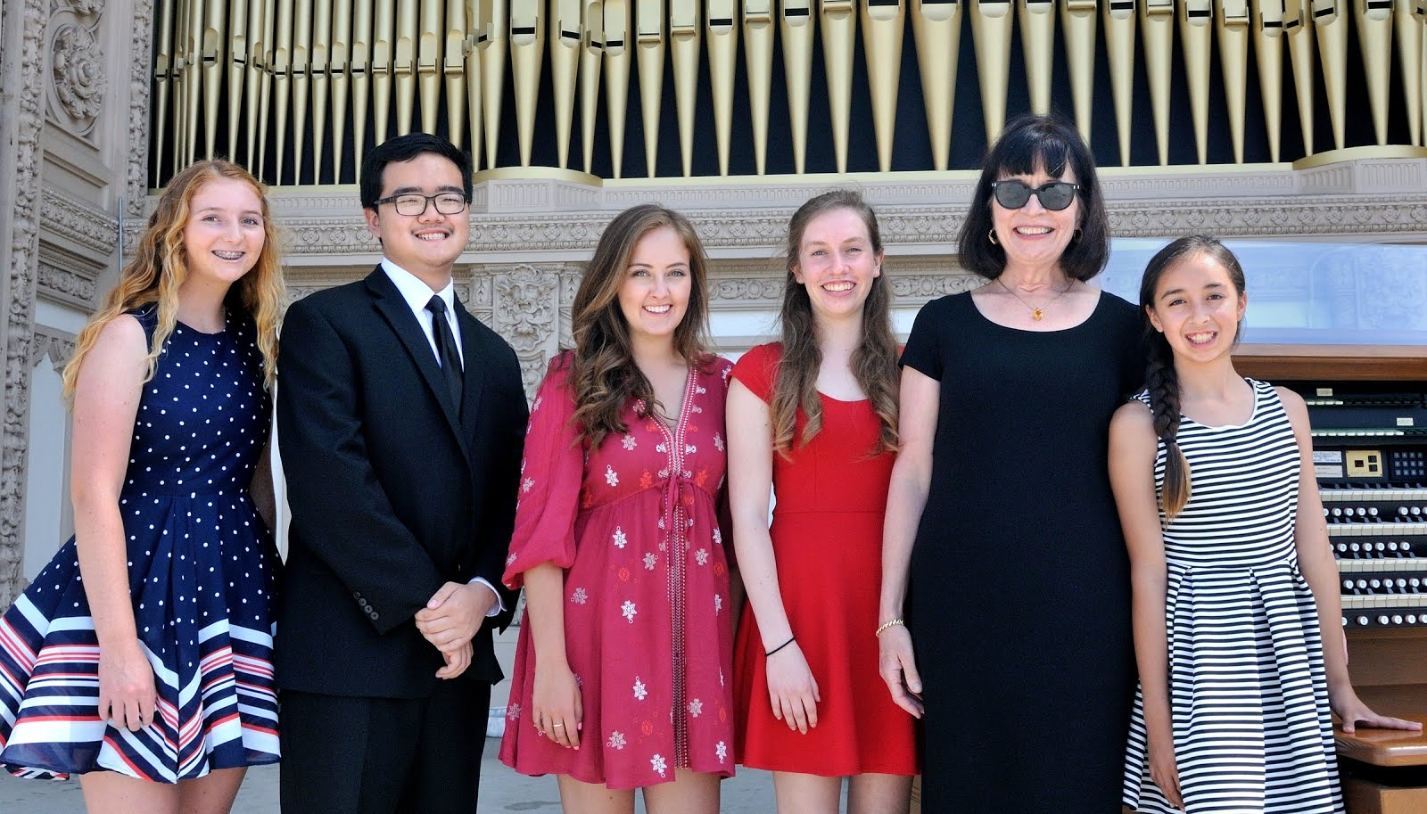 June 5 at the Spreckels Organ Pavilion