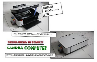 Cara Memasang Infus Printer Canon Mp 287