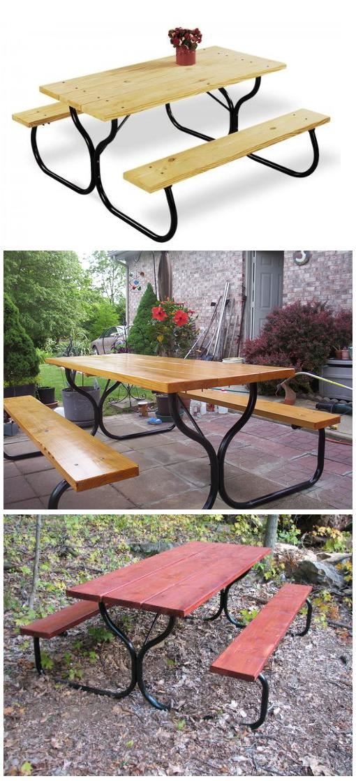 Garden Picnic Table Frame Kit
