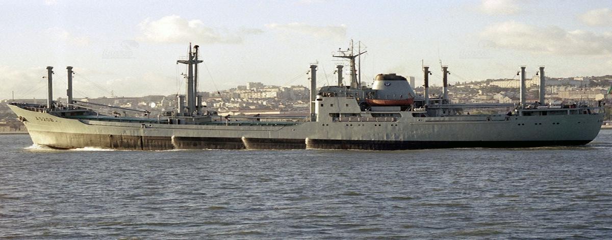 Last voyage of S.  Miguel