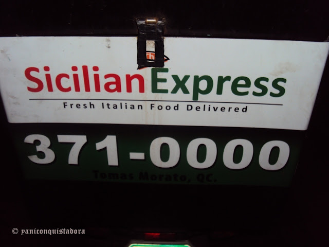 The Sicilian Express in Tomas Morato, Quezon City