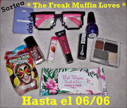 "Sorteo en el blog ""The Freak Muffin"""