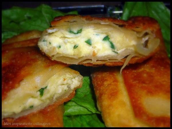 Recette du Brik au fromage