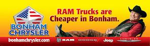 BONHAM RAM TRUCK SUPERCENTER