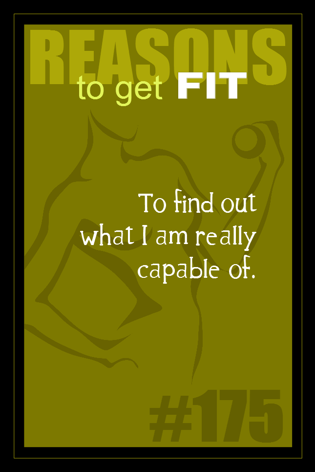 365 Reasons to Get Fit #175