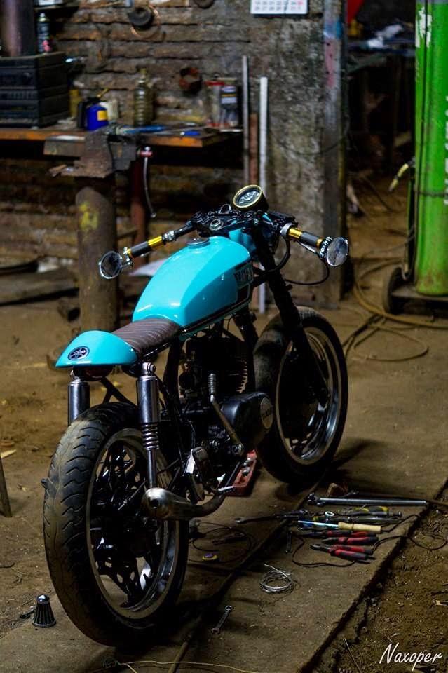 Mercenary garage yamaha rs 100 for Garage yamaha scooter