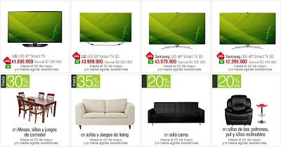 oferta televisores falabella 14-5-13