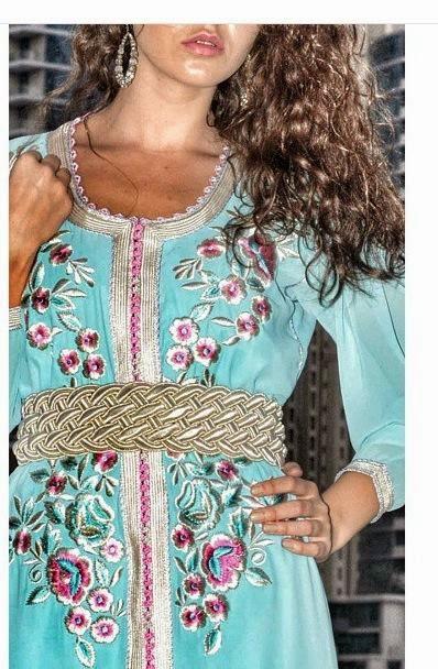 caftan marocain luxe tarz rbati zwak haute couture boutique caftan marocain. Black Bedroom Furniture Sets. Home Design Ideas