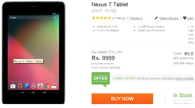 Google Nexus 7 Price Cut