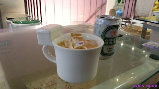 beer served in a toilet