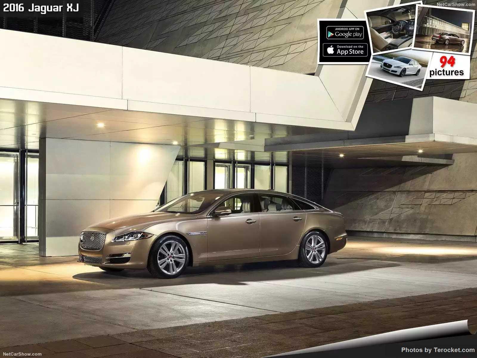 Hình ảnh xe ô tô Jaguar XJ 2016 & nội ngoại thất
