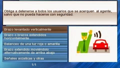 Autoescuela Aprueba Conmigo PSP ISO Screenshoot 2