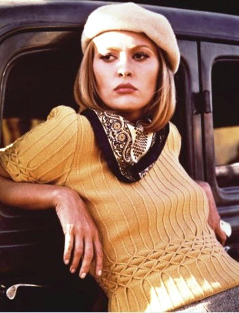 Faye Dunaway as Bonnie Parker