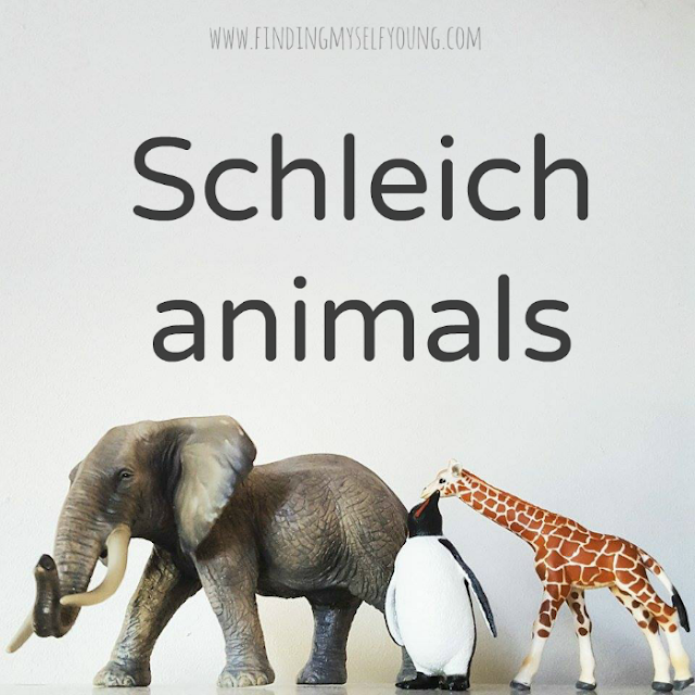Schleich animals review from Summer Lane children's boutique