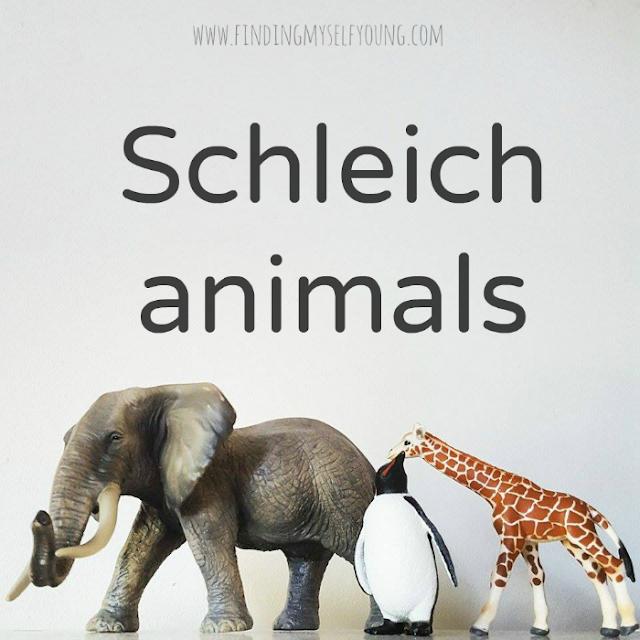 Schleich animals review from Summer Lane children's boutique