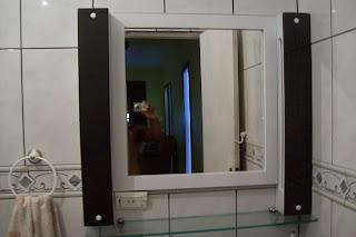 foto de espelho banheiro