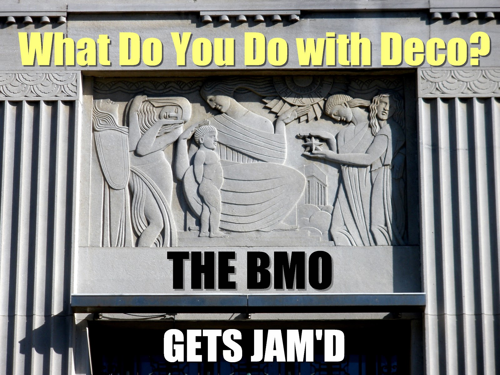 Bmo Term Life Insurance Quote A Walk Through Bmo If Those Allegories Could Talk Urbsite