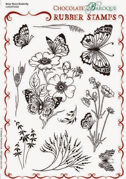 http://www.chocolatebaroque.com/Briar-Rose-Butterfly-Unmounted-Rubber-stamp-sheet--A5_p_6119.html#