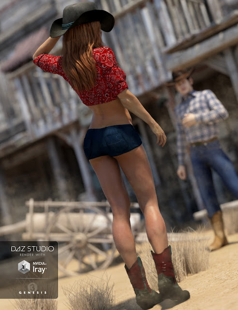 Giddy Up for Genesis 3 Female