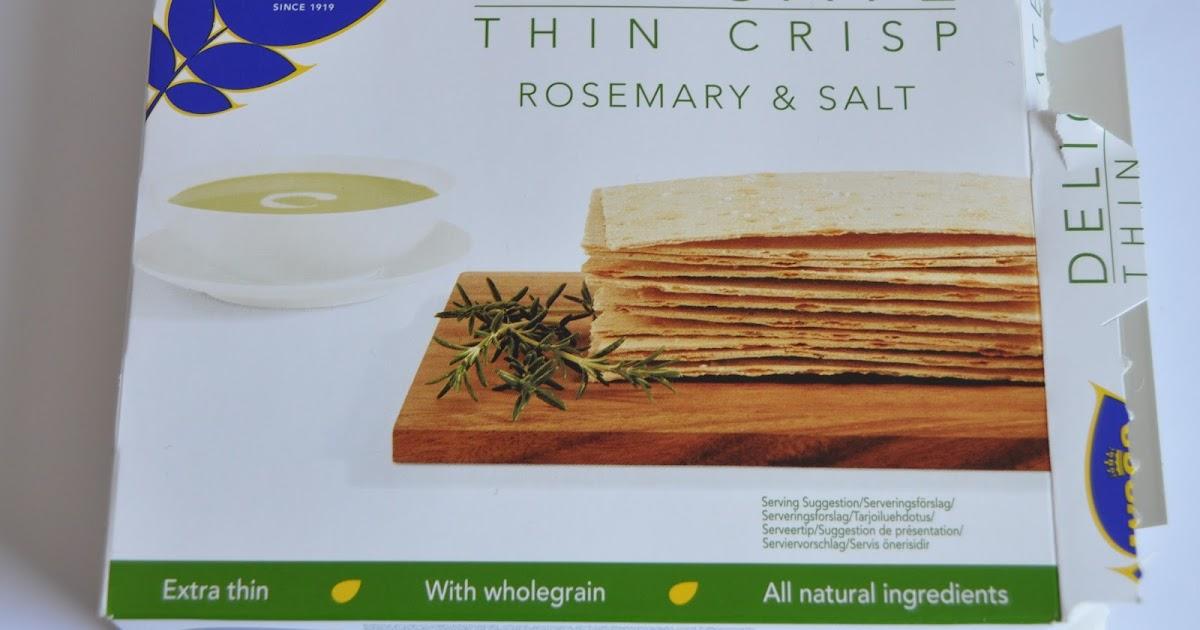 Schni's Beauty Blog: Wasa Rosemary & Salt