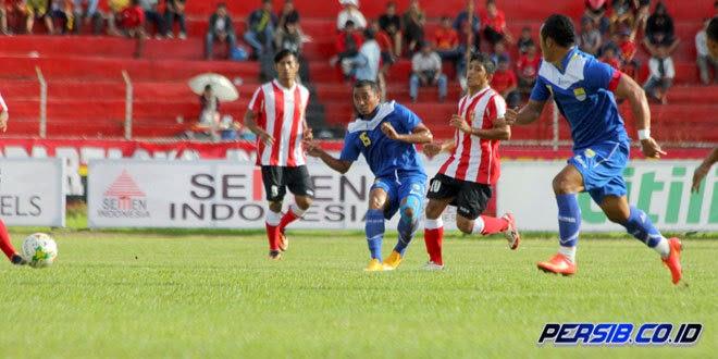 Persib vs Pusamania Borneo FC Piala Wali Kota Padang 2015