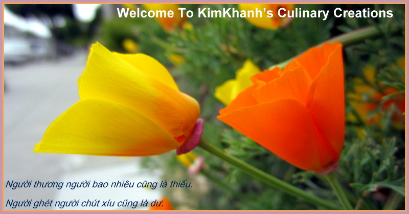 Welcome to KimKhanh&#39;s Culinary Creations