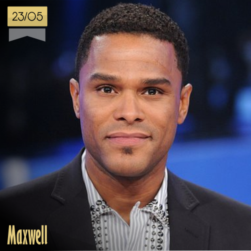 23 de mayo | Maxwell - @_MAXWELL_ | Info + vídeos
