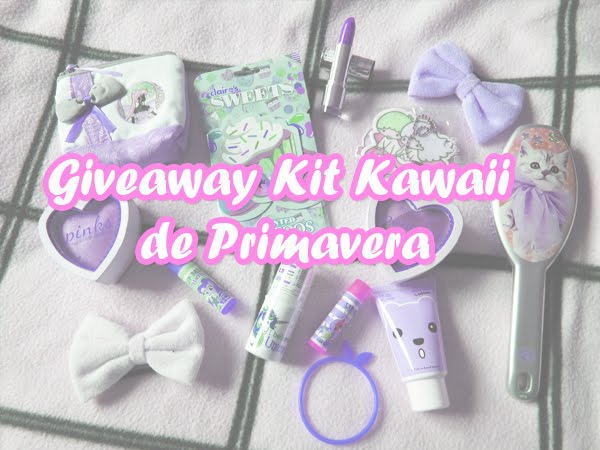 Giveaway | Kit Kawaii de Primavera