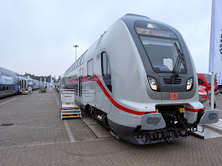 Messe + Bahnindustrie: Innotrans 2014 Trends und Skurriles auf der weltgrößten Bahn-Messe in Berlin, aus Berliner Zeitung