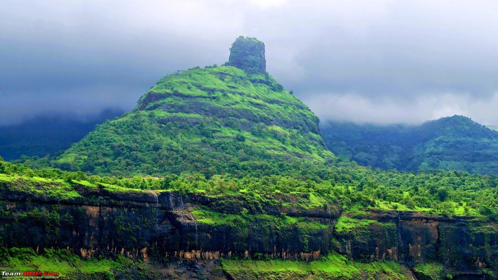 Karjat India  City new picture : There are number of tunnels in this valley which helps trains to pass ...