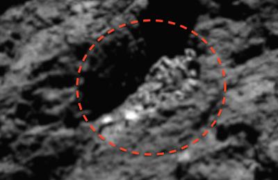 Huge Alien Body Found On Rosetta Comet 2015, UFO Sightings