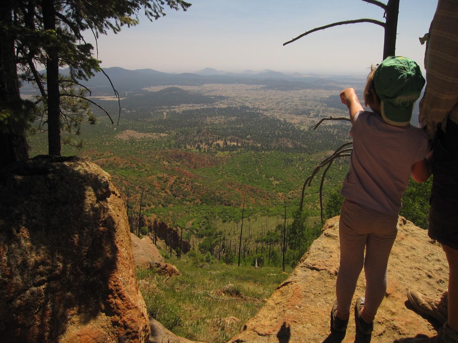 The Hikemasters Trail Descriptions Mount Elden Loop via Brookbank