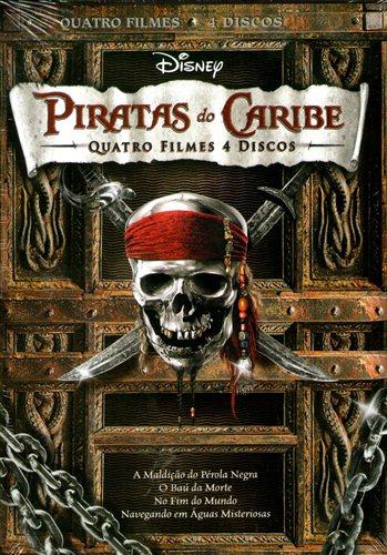 Piratas do Caribe Quadrilogia Torrent - BluRay 1080p Dublado